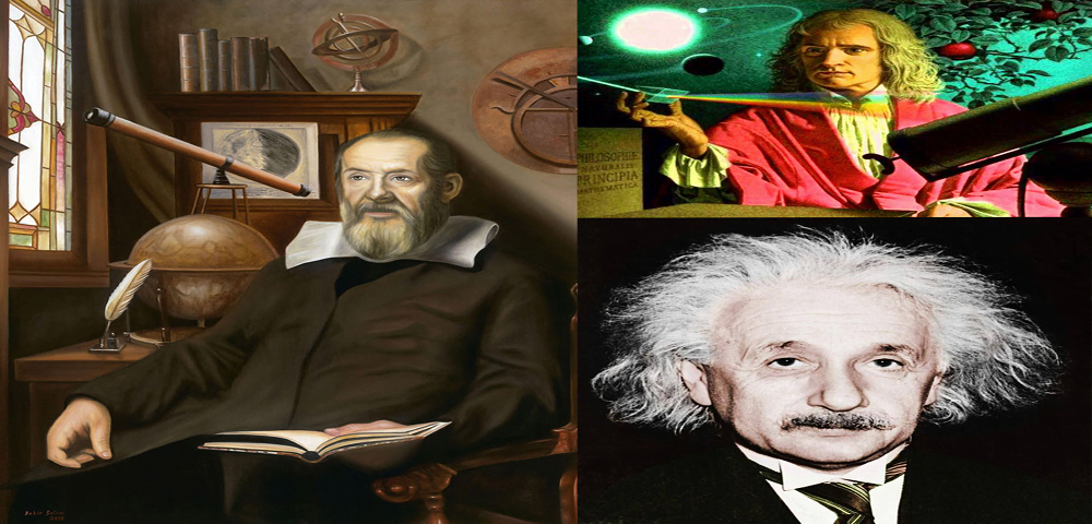 Top 3 scientist of major science famous in the world