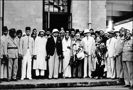 Abdur Rahim and All Indian Muslim League Leaders