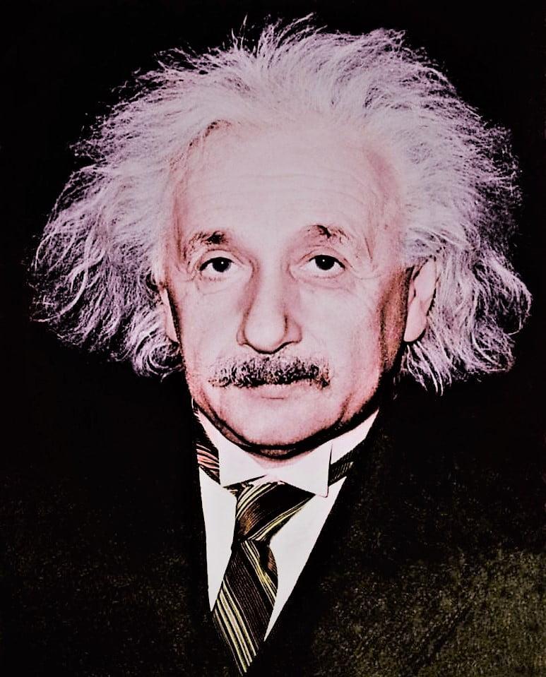 The Genius person Albert EInstein