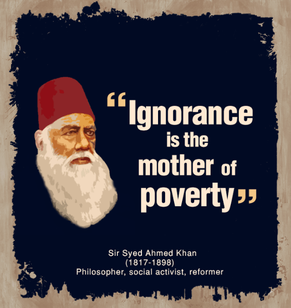 Sir Syed Ahmed's Quotes