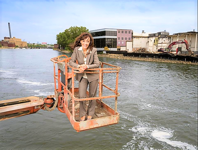Billionaire Diane Hendricks remains committed to downtown Beloit, Wisconsin