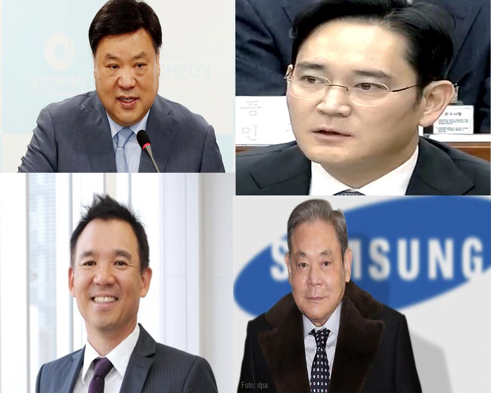 Top 4 richest personalities of Korea