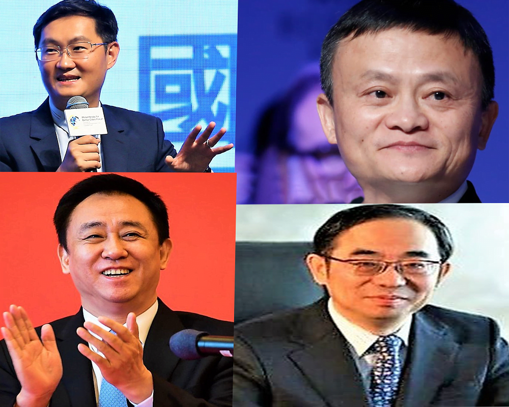 Top 4 richest person in China