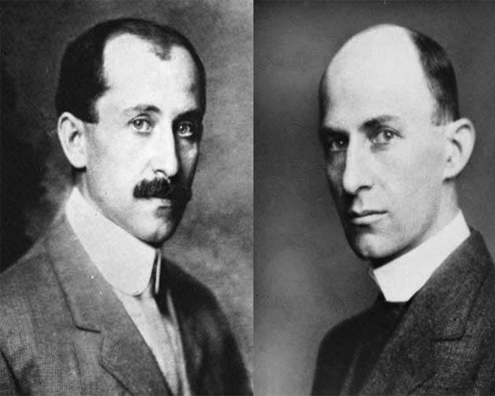 The inventor of Aero Plane Orville and Wilbur Wright