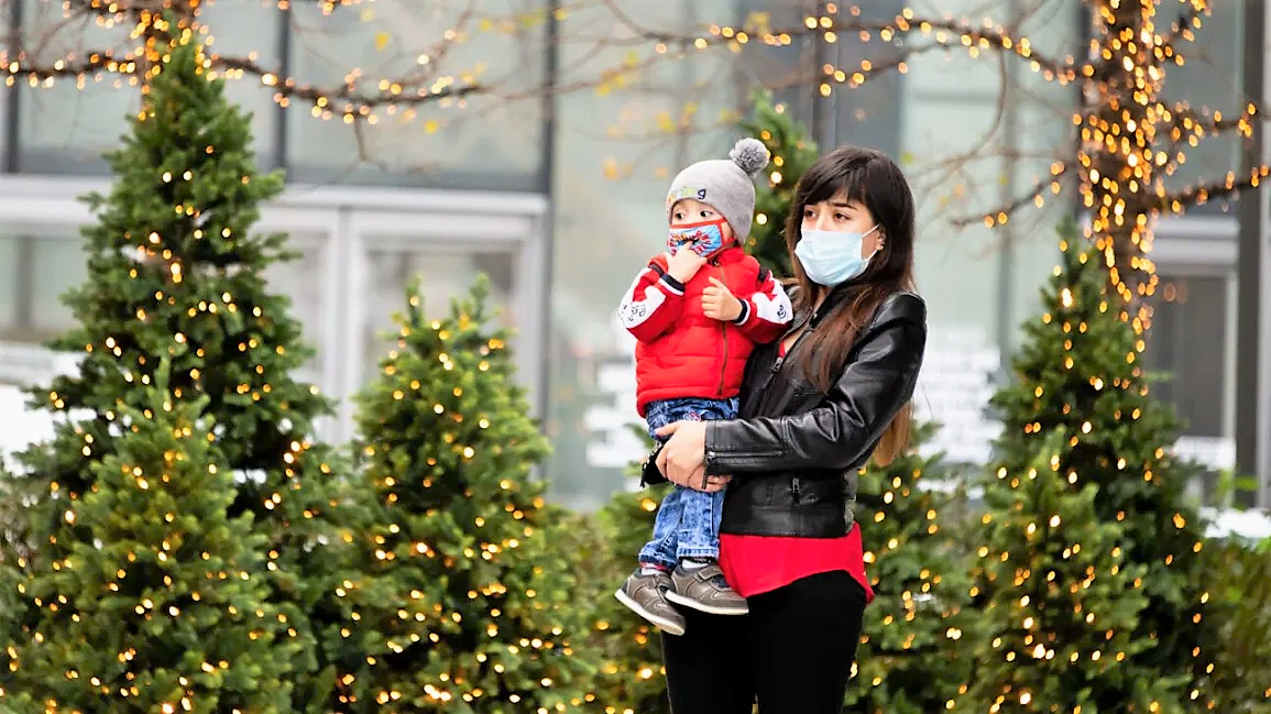 Coronavirus Outbreak in Christmas Holidays