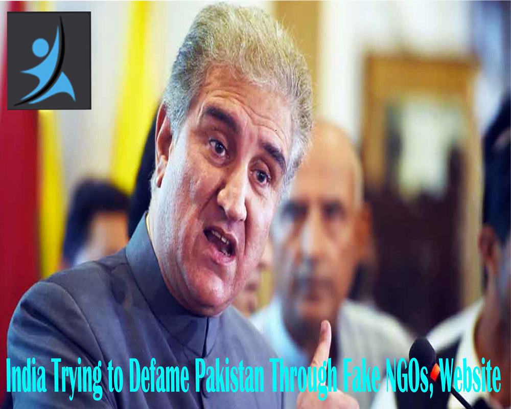 India trying to defame Pakistan through fake NGOs, website