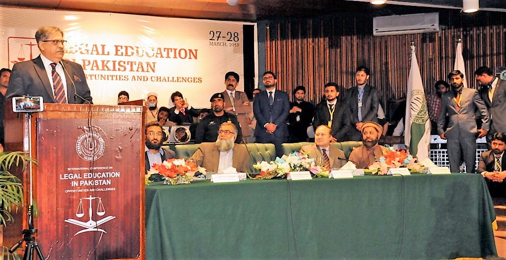 JUSTICE ATHAR MINALLAH STRESSES CRITICAL THINKING IN LEGAL EDUCATION