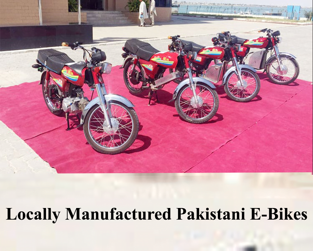 Locally Manufactured Pakistani E-Bikes