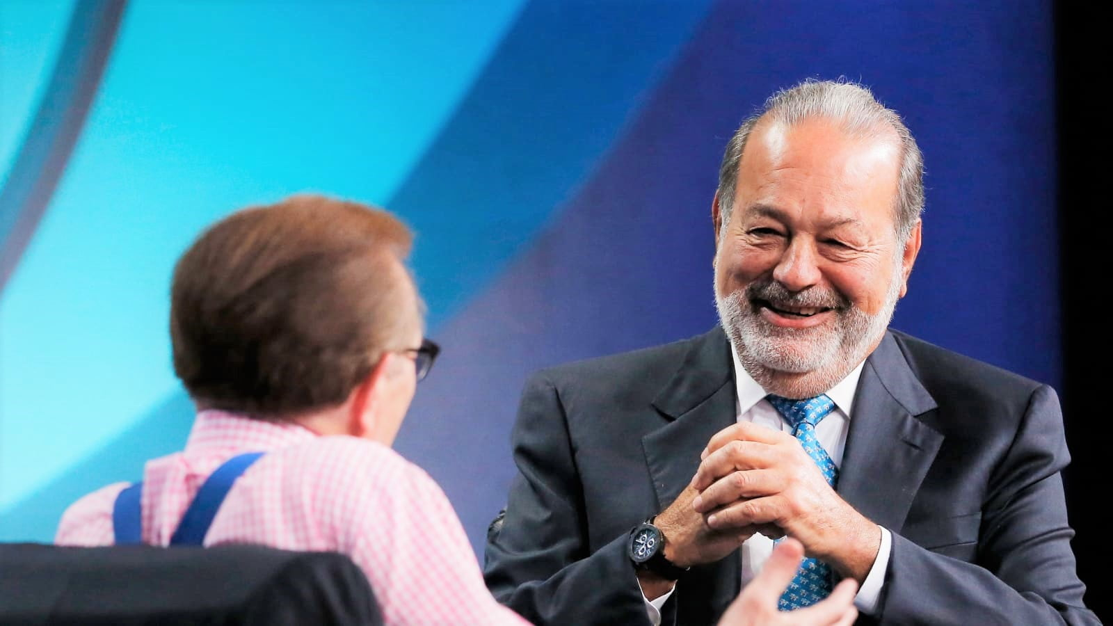 Billionaire Carlos Slim attributes his success at a young age to this person