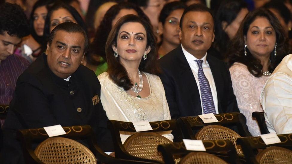 Mukesh Ambani, India's richest man helps his brother avoid jail