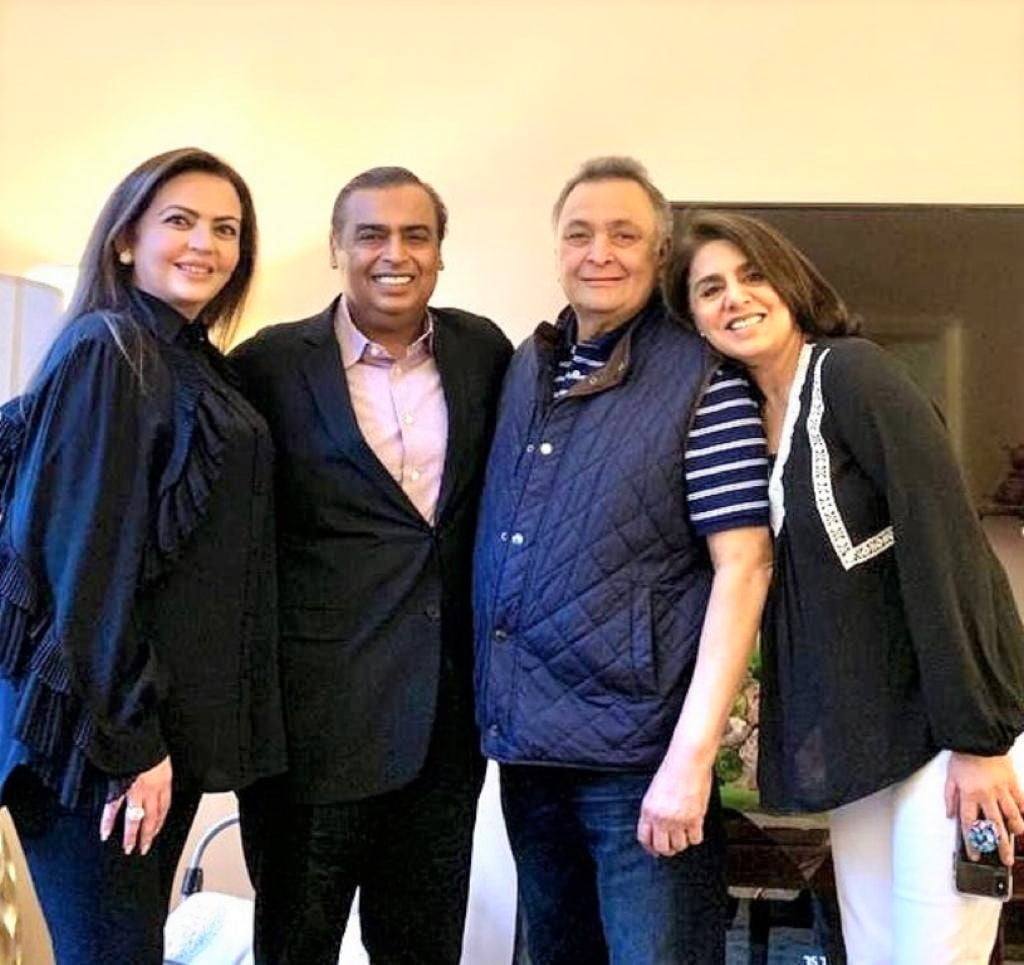 Neetu Kapoor thanks him and family, You have been our guardian angels