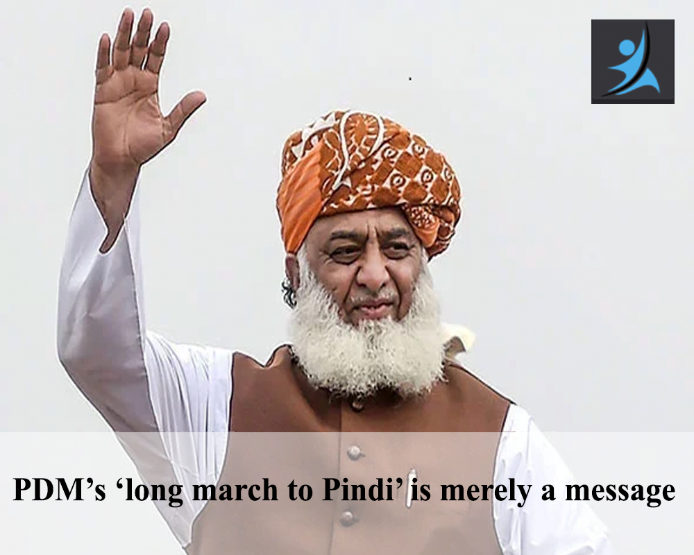 PDM's 'long march to Pindi' is merely a message