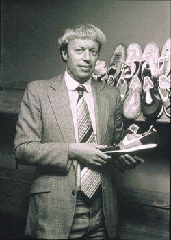 Phil Knight cofounder of NIKE! Phil Knight Along with Bowerman, Knight helped launch Nike and turn it into one of the highest grossing sportswear brands of all time during his 50-year leadership term