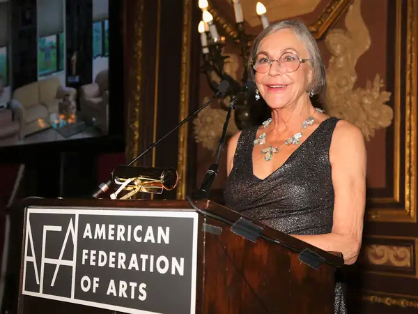 Walmart's Alice Walton addressing at the American Federation of Arts