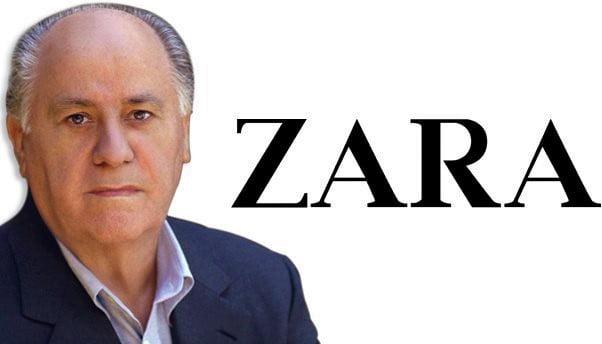 Zara empire from Amancio Ortega
