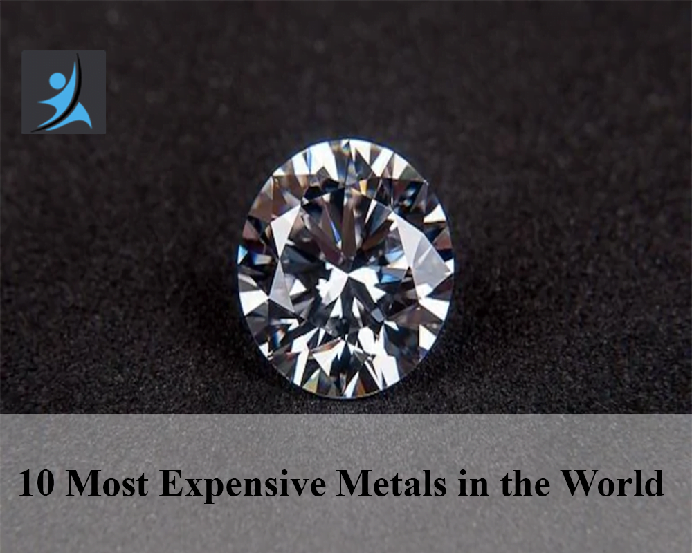 10 most expensive metals in the world