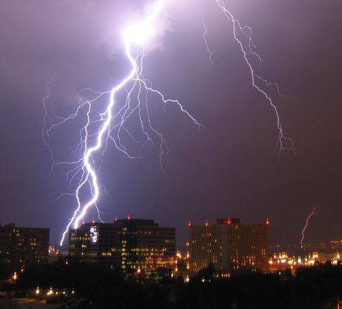 Are you and your kids really safe indoors during a thunderstorm