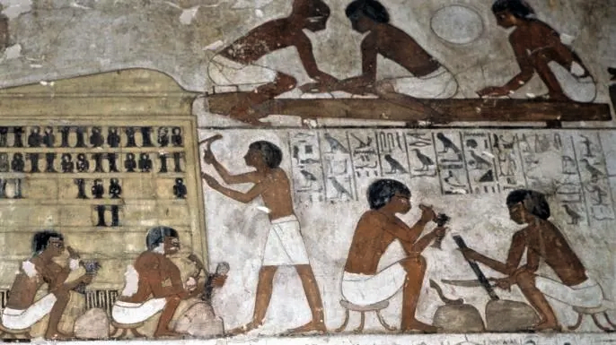 Egyptian workers were known to organize labor strikes