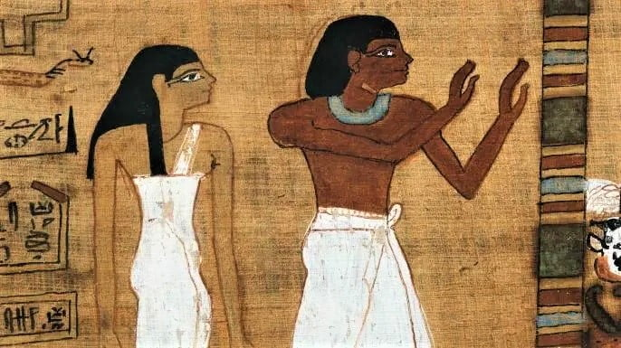 Egyptians of both sexes wore makeup.