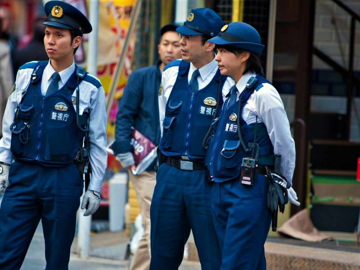 Japan has one of the world's lowest crime rates