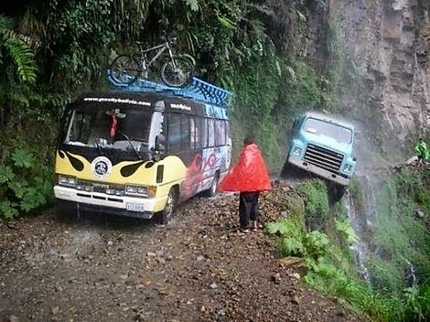Some Roads are very dangerous for the passengers and also for other People