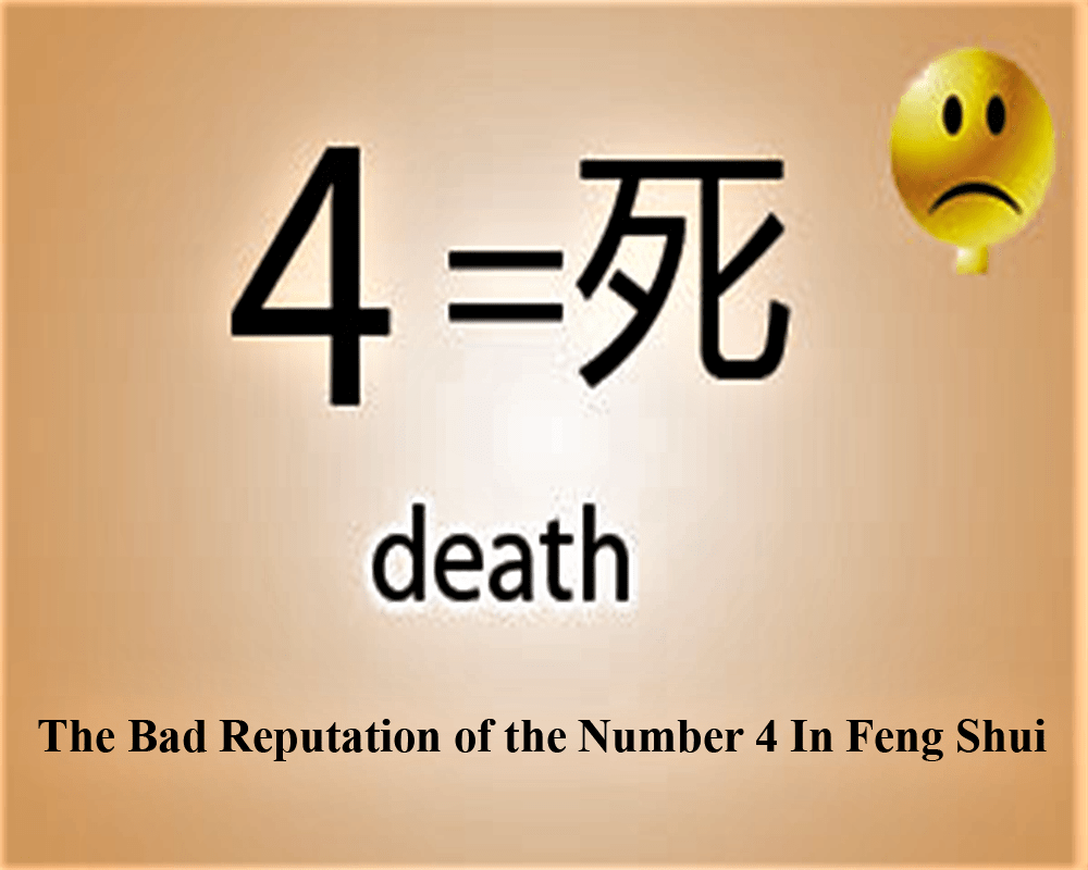 The Bad Reputation of the Number 4 In Feng Shui