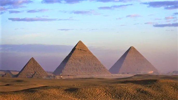The pyramids were not built by slaves
