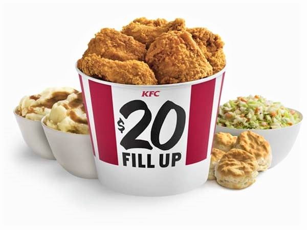 The traditional Christmas Eve meal is KFC