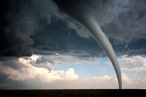 Tornadoes are the dangerous for every living creatures