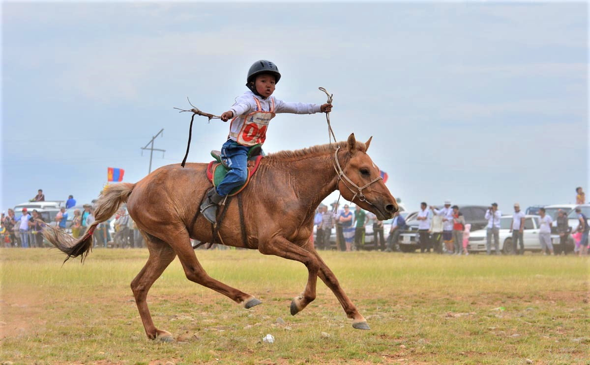 horse racing at Mongolia, famous for the horse racing